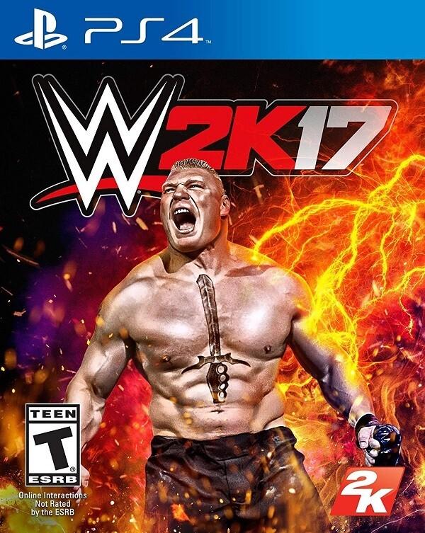WWE 2K17 (usagé)