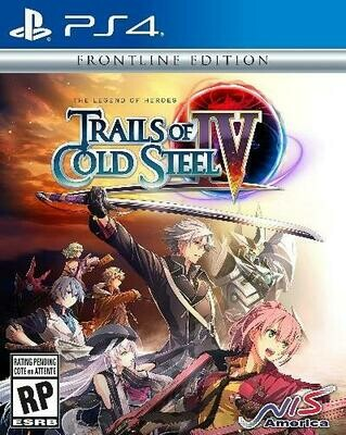 LEGEND OF HEROES TRAILS OF COLD STEEL 4 FRONTLINE EDITION