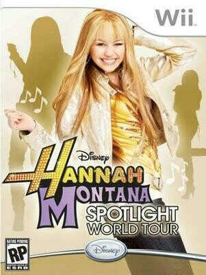 HANNAH MONTANA SPOTLIGHT WORLD TOUR (COMPLETE IN BOX) (usagé)