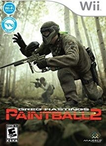 GREG HASTING PAINTBALL 2 (COMPLETE IN BOX) (usagé)