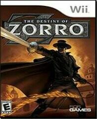 DESTINY OF ZORRO (COMPLETE IN BOX)