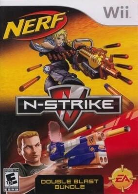 NERF N-STRIKE DOUBLE BLAST (COMPLETE IN BOX) (usagé)