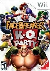 FACEBREAKER K.O. PARTY (COMPLETE IN BOX) (usagé)
