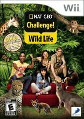 NATIONAL GEOGRAPHIC CHALLENGE WILD LIFE (COMPLETE IN BOX)