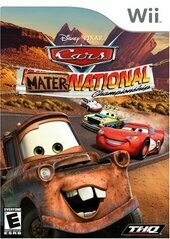 CARS MATER-NATIONAL CHAMPIONSHIP (COMPLETE IN BOX) (usagé)