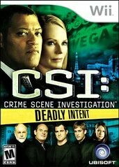 CSI 5 DEADLY INTENT (COMPLETE IN BOX) (usagé)