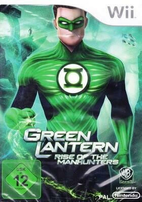 GREEN LANTERN RISE OF THE MANHUNTERS (COMPLETE IN BOX) (usagé)