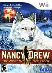 NANCY DREW THE WHITE WOLF OF ICICLE CREAM (COMPLETE IN BOX) (usagé)