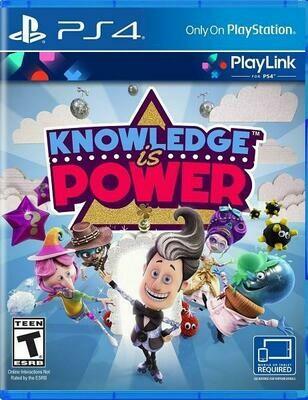 KNOWLEDGE IS POWER (usagé)