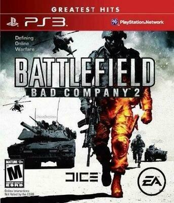 BATTLEFIELD BAD COMPANY 2 GREATEST HITS (WITH BOX) (usagé)