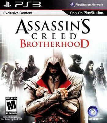 ASSASSIN'S CREED BROTHERHOOD (WITH BOX) (usagé)