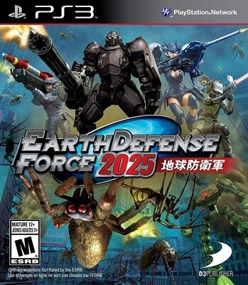 EARTH DEFENSE FORCE 2025 (WITH BOX) (usagé)