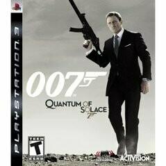 007 JAMES BOND QUANTUM OF SOLACE (COMPLETE IN BOX) (usagé)