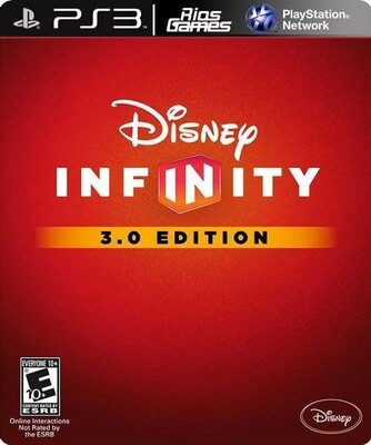 DISNEY INFINITY 3.0 GAME ONLY (COMPLETE IN BOX) (usagé)