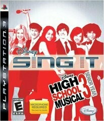 DISNEY SING IT HIGH SCHOOL MUSICAL 3 SENIOR YEAR (COMPLETE IN BOX) (usagé)