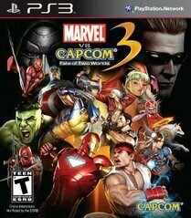 MARVEL VS. CAPCOM 3 FATE OF TWO WORLDS (COMPLETE IN BOX)
