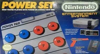 NINTENDO ENTERTAINMENT SYSTEM POWER SET (usagé)