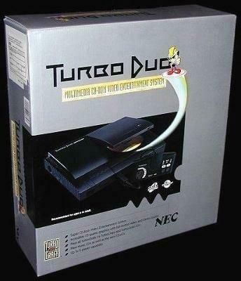 TURBOGRAFX-16 TURBO DUO CONSOLE (WITH BOX) (usagé)