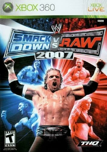 WWE SMACKDOWN VS. RAW 2007 (COMPLETE IN BOX) (usagé)