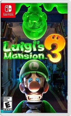 LUIGI'S MANSION 3