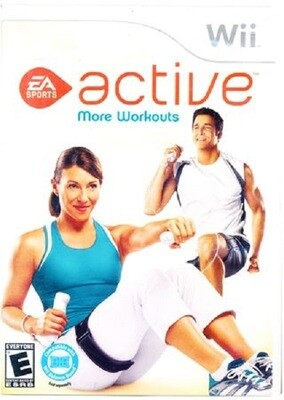 EA SPORTS ACTIVE MORE WORKOUTS (COMPLETE IN BOX)