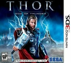 THOR GOD OF THUNDER (COMPLETE IN BOX) (usagé)