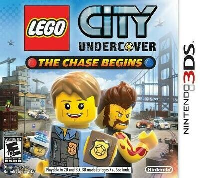 LEGO CITY UNDERCOVER THE CHASE BEGINS (COMPLETE IN BOX)