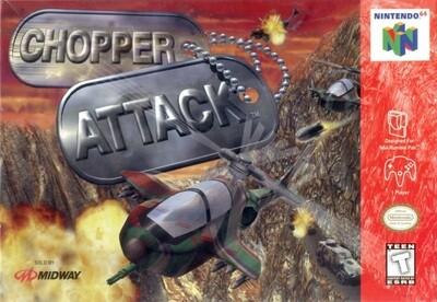 CHOPPER ATTACK (COMPLETE IN BOX) (usagé)