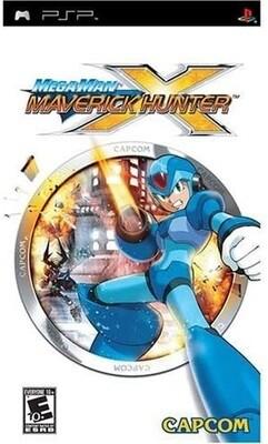 MEGA MAN MAVERICK HUNTER X (COMPLETE IN BOX) (usagé)