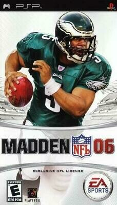 MADDEN NFL 06 (COMPLETE IN BOX) (usagé)