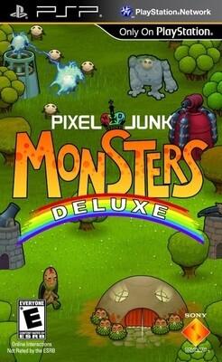 PIXEL JUNK MONSTERS DELUXE (COMPLETE IN BOX)