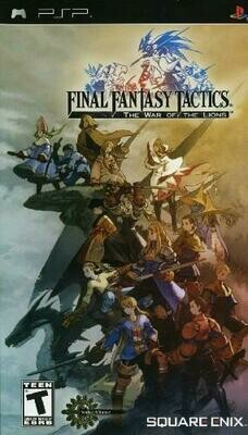 FINAL FANTASY TACTICS THE WAR OF THE LIONS (COMPLETE IN BOX) (usagé)