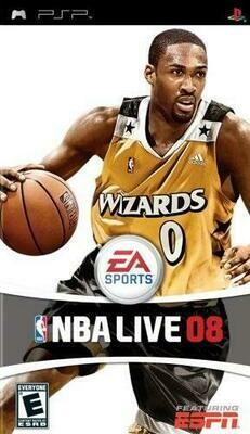 NBA LIVE 08 (WITH BOX) (usagé)