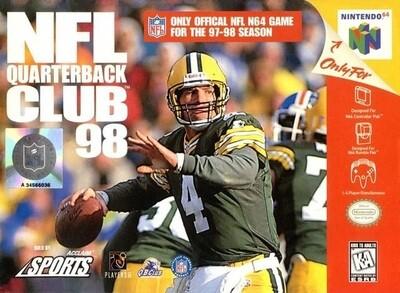 NFL QUARTERBACK CLUB 98 (COMPLETE IN BOX) (usagé)
