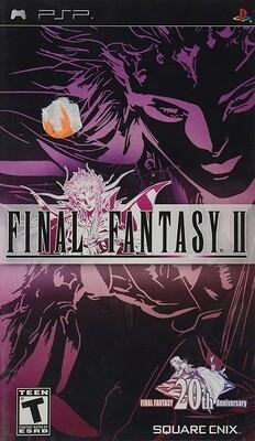 FINAL FANTASY II (COMPLETE IN BOX) (usagé)