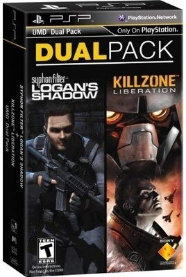 DUAL PACK / KILLZONE LIBERATION & SYPHON FILTER LOGAN'S SHADOW (COMPLETE IN BOX)