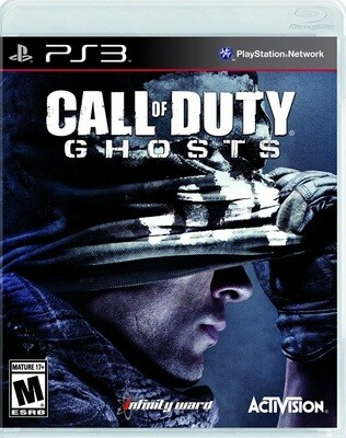 CALL OF DUTY GHOSTS FRENCH (WITH BOX) (usagé)