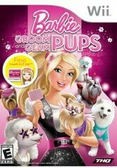 BARBIE GROOM AND GLAM PUPS (WITH BOX) (usagé)