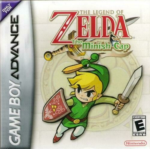 THE LEGEND OF ZELDA THE MINISH CAP (COMPLETE IN BOX) (usagé)