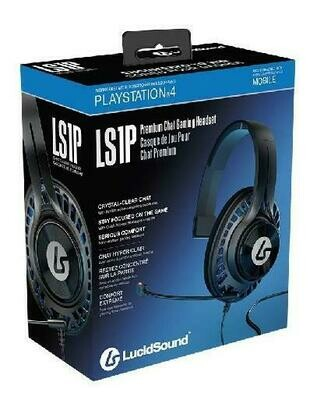HEADSET LS1P PREMIUM CHAT GAMING BLACK FOR PS4