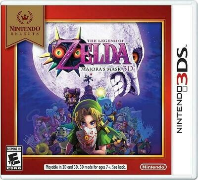 THE LEGEND OF ZELDA MAJORA'S MASK 3D NINTENDO SELECTS (WITH BOX) (usagé)