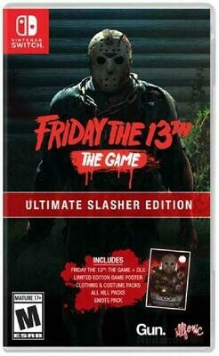 FRIDAY THE 13TH THE GAME ULTIMATE SLASHER EDITION (usagé)