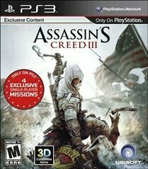 ASSASSIN'S CREED 3 (WITH BOX) (usagé)