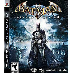 BATMAN ARKHAM ASYLUM (COMPLETE IN BOX) (usagé)