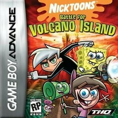 NICKTOONS BATTLE FOR VOLCANO ISLAND