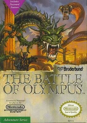 BATTLE OF OLYMPUS (COMPLETE IN BOX) (usagé)