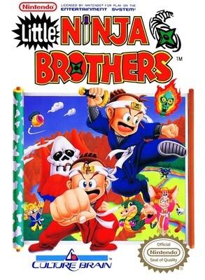 LITTLE NINJA BROTHERS (WITH BOX) (usagé)
