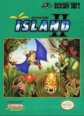 ADVENTURE ISLAND II (COMPLETE IN BOX) (usagé)