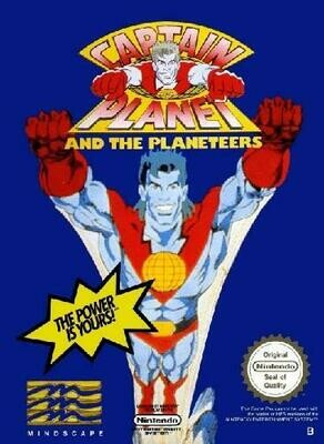 CAPTAIN PLANET AND THE PLANETEERS (WITH BOX) (usagé)