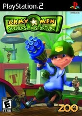 ARMY MEN SOLDIERS OF MISFORTUNE (COMPLETE IN BOX) (usagé)